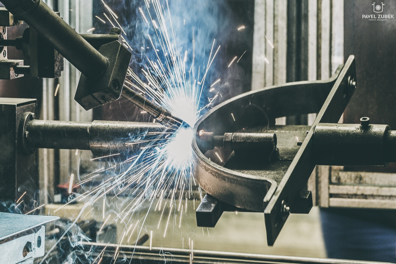 Svařování - kovovýroba